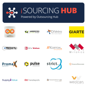 Knowledge Partners van iSourcing Hub (d.d. 24 oktober 2018)
